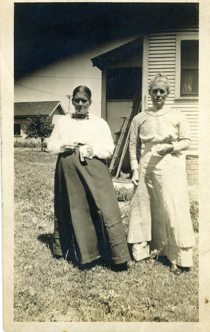 sisters: Aunt Hulda Ray & Aunt Mary Landers